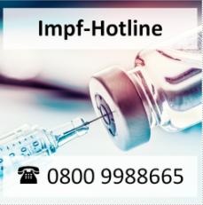 Hinweis zur Impf-Hotline©Land Niedersachsen