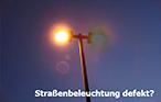 Defekte Straßenbeleuchtung©Stadt Osterode am Harz