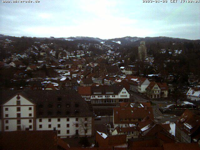 Webcam-Bild von 17.00 Uhr