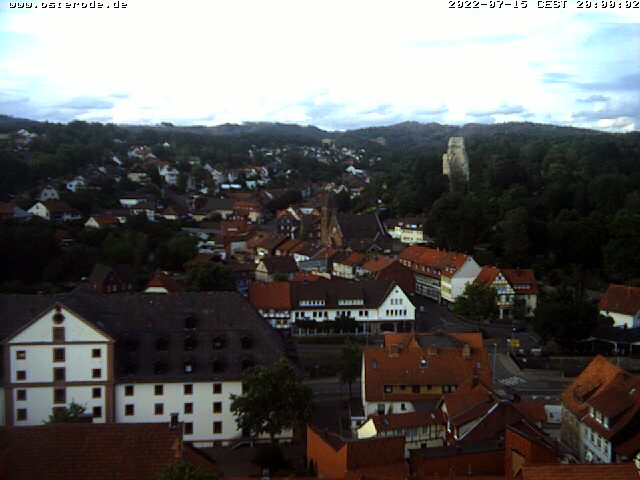 Webcam-Bild von 20.00 Uhr