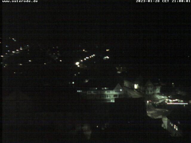 Webcam-Bild von 21.00 Uhr